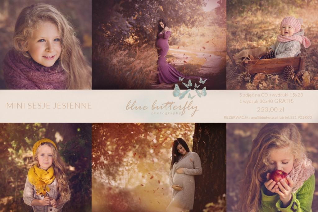 Blue Butterfly Photography mini sesja jesienna 2017