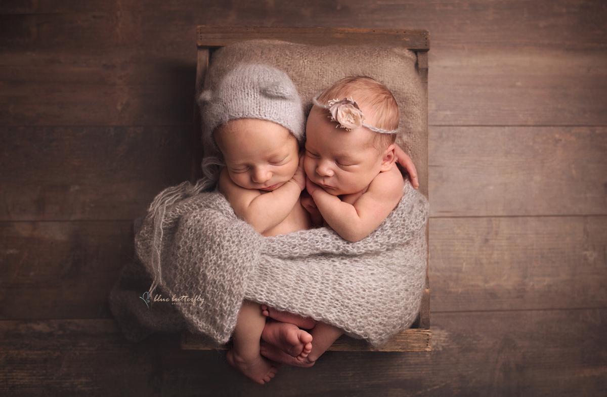 Ania i Michałek – sesja noworodkowa