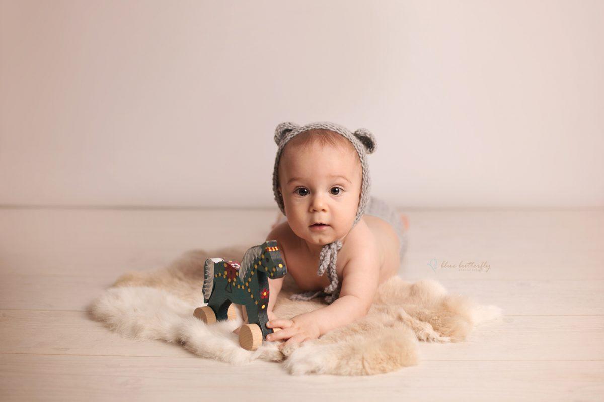 Julianek – sesja niemowlęca