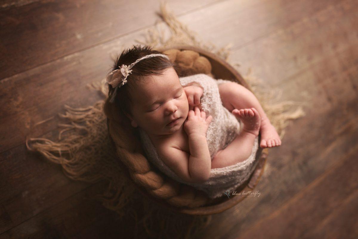 Zuzia – sesja noworodkowa